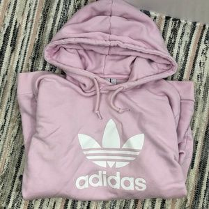 adidas Trefoil Hoodie Pink Size M